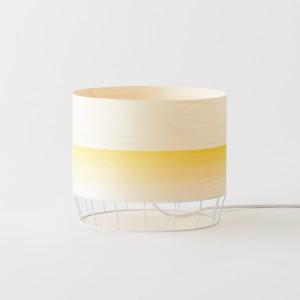 Lampe DOWOOD aquarelle M jaune
