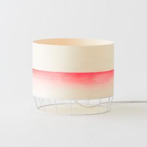 Watercolor DOWOOD Lamp M red