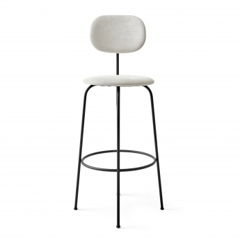 AFTEROOM stool bar high in cream velvet