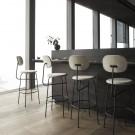 AFTEROOM stool bar high in cream velvet