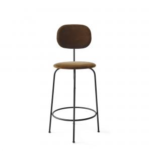AFTEROOM stool bar low in cognac