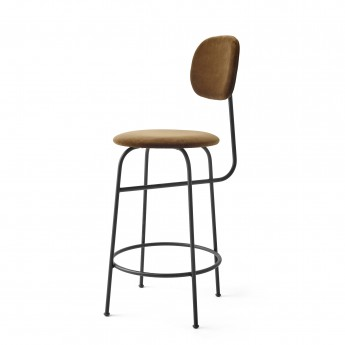 AFTEROOM stool bar low in cognac