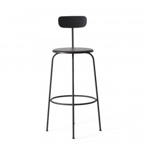 AFTEROOM stool bar high in black wood