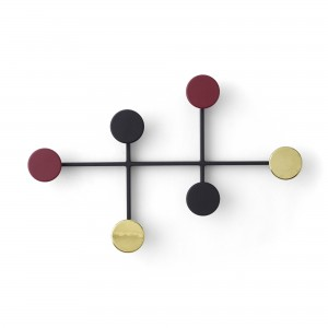 AFTEROOM coat hanger black and brass