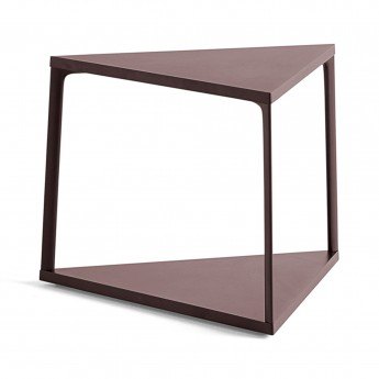Table d'appoint EIFFEL triangle - Dark Brick