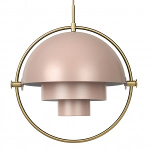 MULTI-LITE pendant rose & brass