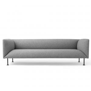 GODOT 3 seaters sofa grey melange