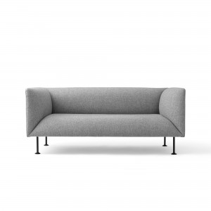 GODOT 2 seaters sofa grey melange