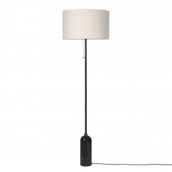 GRAVITY Floor lamp black marble
