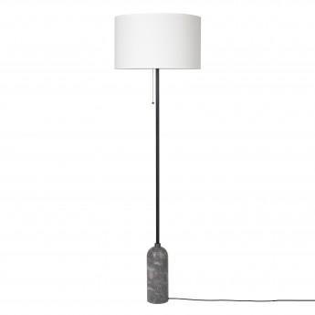 GRAVITY Floor lamp grey marble