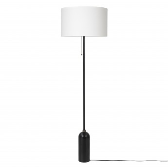 GRAVITY Floor lamp black steel