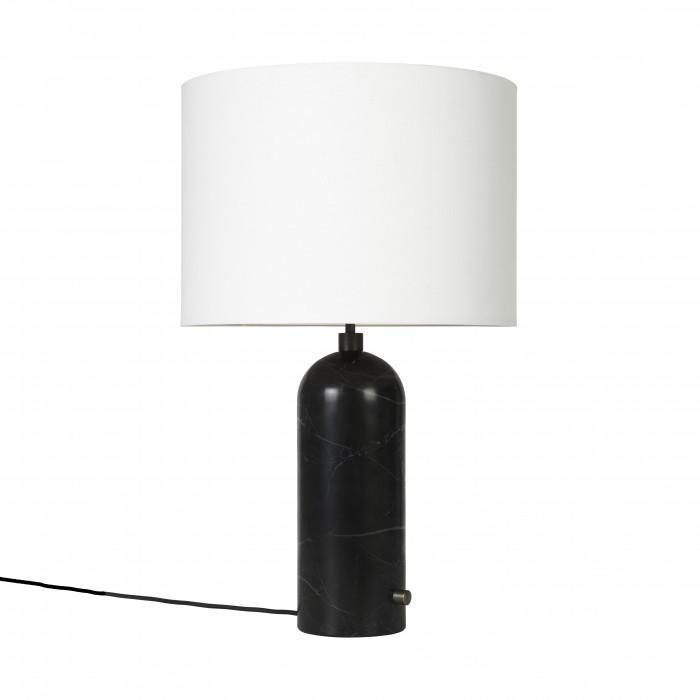 Lampe GRAVITY marbre noir