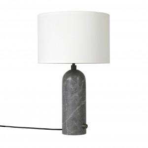 GRAVITY lamp grey marble