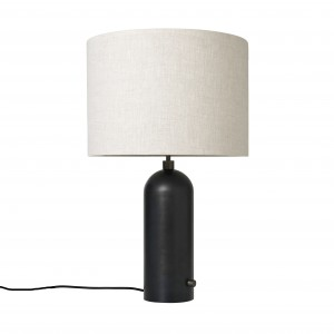 GRAVITY lamp black steel