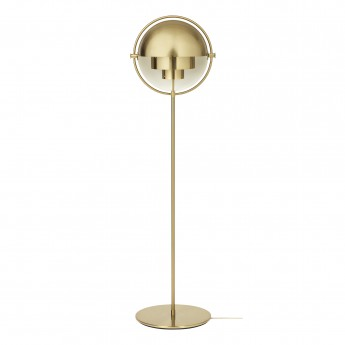 MULTI-LITE floor lamp brass