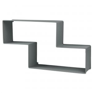 DEDAL shelf grey