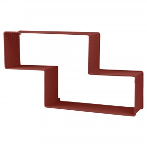 DEDAL shelf red
