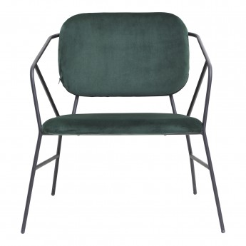 KLEVER lounge chair green