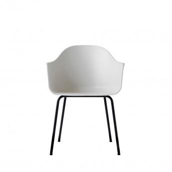 HARBOUR chair - Black, steel base