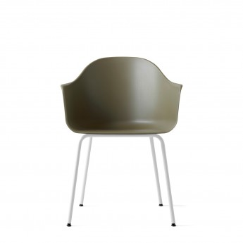 HARBOUR chair - Black, steel base