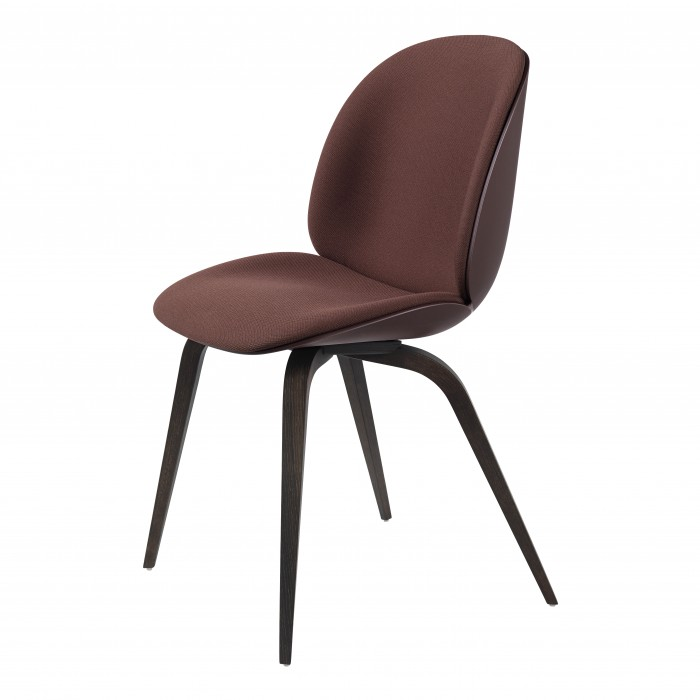 BEETLE dining chair - Steelcut 655/black stained beech