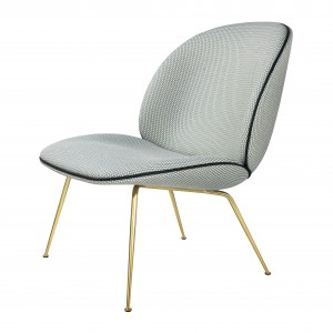 BEETLE armchair - Backhausen Korb/brass