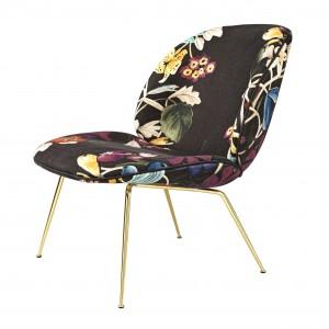 BEETLE armchair - Dedar AboutFlowers 4/brass