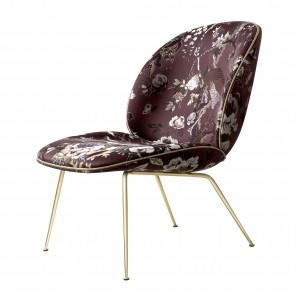 BEETLE armchair - dedar/brass