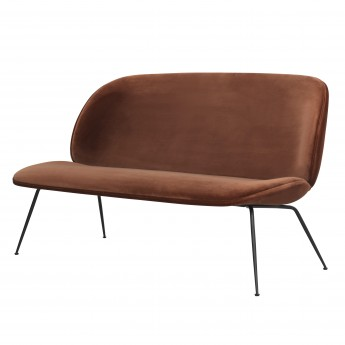 BEETLE sofa - Velluto 641/black