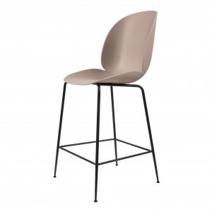 BEETLE stool - pink/black metal