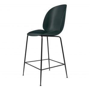 BEETLE stool - green/black metal