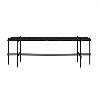 TS Console - 1 rack - black marble/black