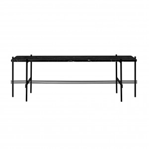 TS Console - 1 rack - black marble/black