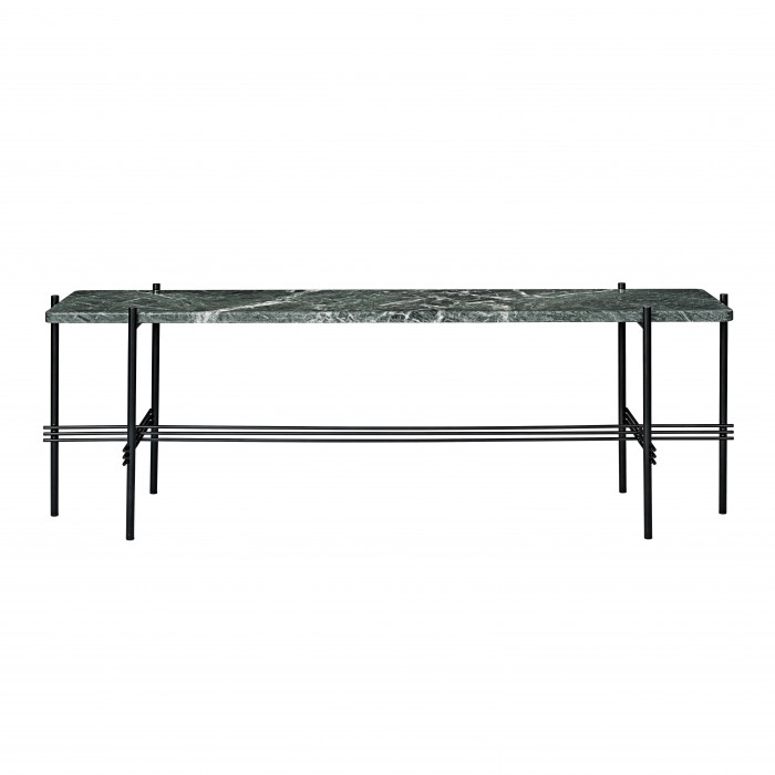 TS Console - 1 rack - green marble/black