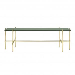 TS Console - 1 rack - green/brass