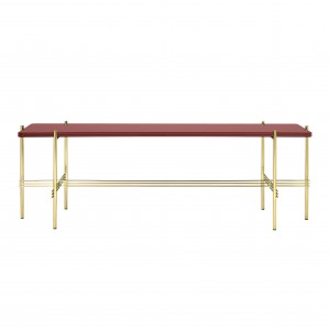 TS Console - 1 rack - red/brass