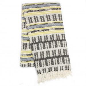 OPALE beach towel - Lime