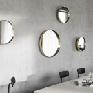 DARKLY mirror in brass