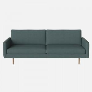 SCANDINAVIA REMIX sofa 3 seaters LONDON/sea green