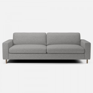 SCANDINAVIA sofa 3 seats NANTES/Light grey