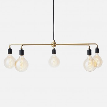 Suspension CHAMBERS CHANDELIER TRIBECA - Laiton Ø96