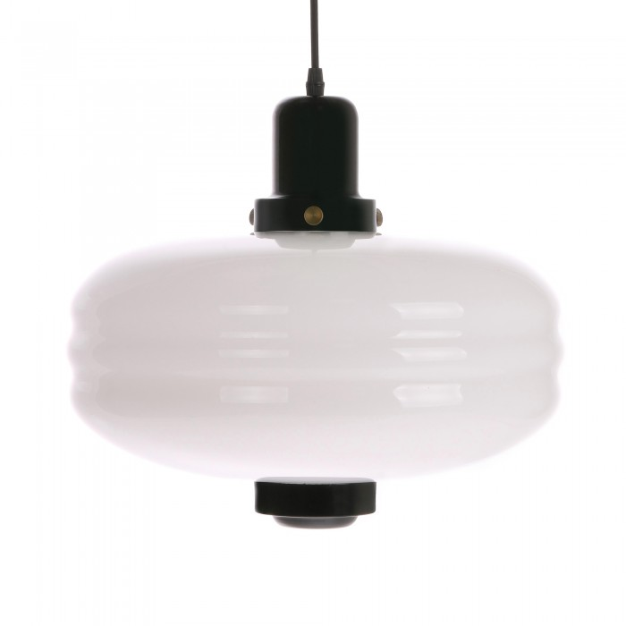 GLASS pendant lamp L black
