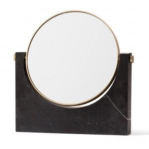 PEPE MARBLE mirror - Black