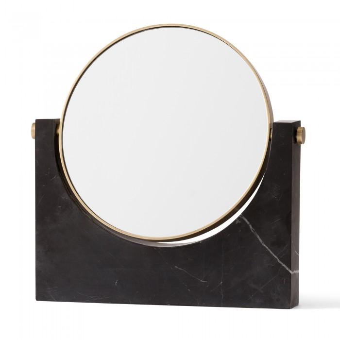 Miroir PEPE MARBLE MIRROR - Noir