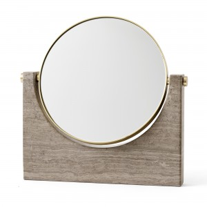 PEPE MARBLE mirror - Brown