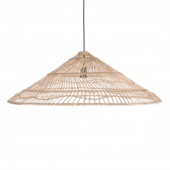 WICKER TRIANGLE pendant lamp