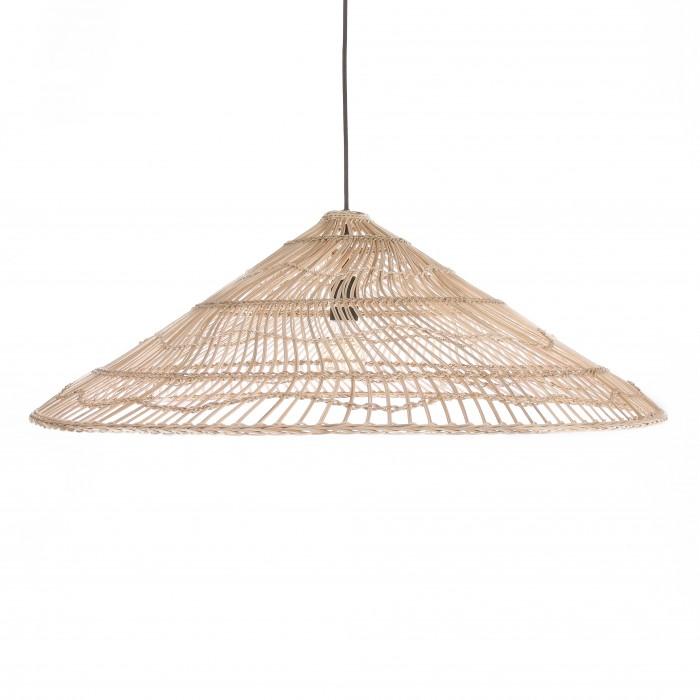 WICKER TRIANGLE pendant lamp