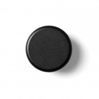 Patères KNOBS set de 2 - Noir