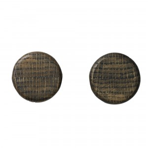 KNOBS hooks set of 2 - Dark ash
