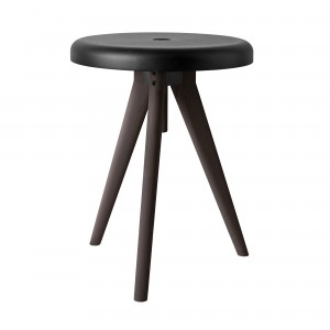 Side table / Stool FLIP AROUND - Dark Ash
